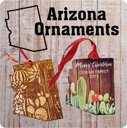 Arizona State Ornaments