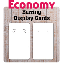 Economy Earring Cards