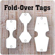 Fold-Over Tags | Tent Cards