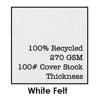 White Felt